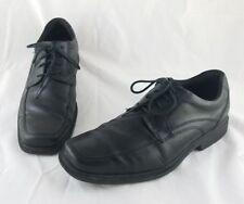Rockport Bryanson K71509 black leather dress shoes adiprene Adidas insole 11.5D