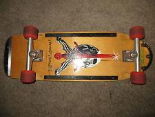 Vintage Skateboard POWELL Peralta Skull & Sword 80's