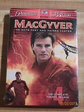 MacGyver Fourth Season Dvd Richard Dean Anderson action espionage comedy family