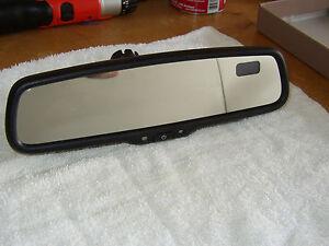 FACTORY OEM  08 09 10 11 12 Toyota Highlander Auto Dim Rear View Mirror Compass