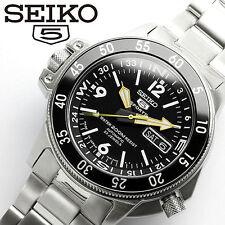 SEIKO SEIKO 5 SPORTS ATLAS SKZ211J1 Diver's Black Dial Men's Watch From Japan