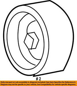 FORD OEM 97-03 F-150-Serpentine Drive Belt Idler Pulley 5L3Z8678BA