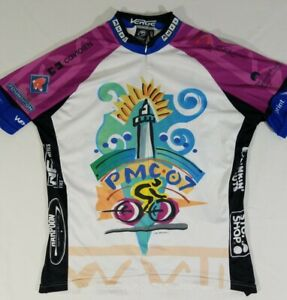 Pan Mass Challenge PMC 2007 Cycling Racing Jersey 1/2 Zip Club Mens 3XL Verge