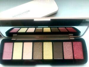 REVOLUTION Precious Glam True Glamour Tin - Eyeshadow Makeup Palette LIMITED ED