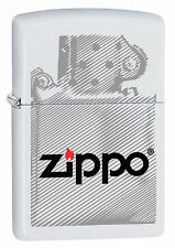 Novedad 2017!!! Zippo en TU MECHERO INSERT Zippo White maletero Zippo logotipo nuevo embalaje original