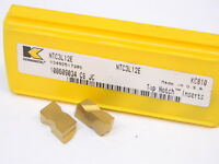 NEW SURPLUS 5pcs. KENNAMETAL NTC3L12E Grade: KC810 CARBIDE INSERTS