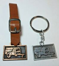 Leather Buckle Holder & Key Chain Watch Fob Ingersoll Rand Generator With