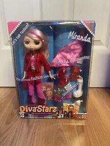 "2002 Diva Starz Miranda Interactive Talking Barbie Doll 11½"" Fashion"