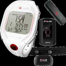 Polar RCX3F Sleek GPS Sensor Heart Rate Monitor Training Watch WHITE 90042206