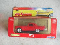 Vintage Majorette Legends Diecast 1956 Ford Thunderbird Car NIB 2402 1:32 Scale