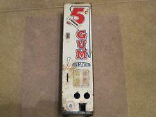 1940'S-1950'S SHIPMAN 5 CENT WRIGLEY'S GUM & LIFE SAVER VENDING MACHINE