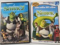 DreamWorks Animated Comedy DVD Movie Bundle - Shrek and Shrek II