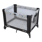 Graco Pack 'n Play Portable Playard, Automatic Folding, 2 Wheels, Carnival Color