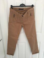 Zara Camel Trousers Size Medium