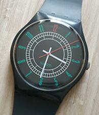"""Maxi Swatch MGA400  """" RITZ """" 1986 Rare Collectable Wall Clock Pop Art"""