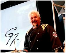 GUY FIERI Signed Autographed DINERS DRIVE-INS AND DIVES 8X10 Photo J 'TRIPLE-D'