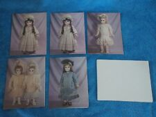 Set Of 5 New Vintage Das Jumeau Doll Pictured Note Cards