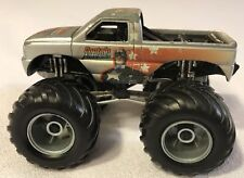 RARE 2005 MUSCLE MACHINES MARVEL CAPTAIN AMERICA BIGFOOT MONSTER TRUCK LOOSE