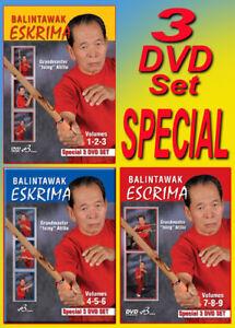 ATILLO BALINTAWAK ESCRIMA VOL-1-9 Special