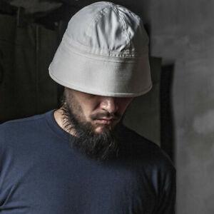Bronson USN Dixie Cup Hat Military Navy Uniform Cap Bucket Outdoor Travel Hat