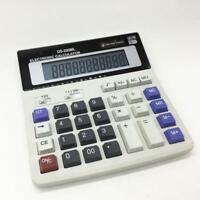 Dual Power Solar & Battery 12 Digits Calculator Desktop Desk O5A1 Buttons L4J8