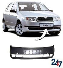 NEW SKODA FABIA 2000 - 2004 FRONT BUMPER WITHOUT HEADLIGHT WASHER HOLES