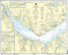 NOAA Chart Neuse River and Upper Part of Bay River 20th Edition 11552