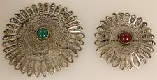 Brooches, 33.5 Grams 2- Sterling Silver Vintage