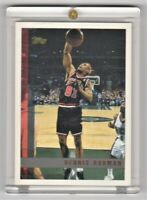 1997 Topps Basketball card #106 Chicago Bulls Dennis Rodman Mint Condition