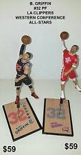 Custom B. Griffin #32 La Clippers Western Conference All-star Mcfarlane figure