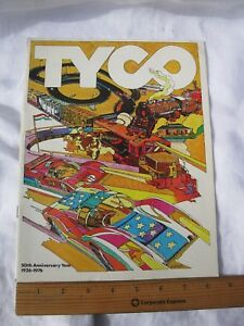 1976 50th ANNIVERSARY TYCO CATALOG (TRAINS SLOT CARS) NICE FIND *SHIPS FREE 2 US