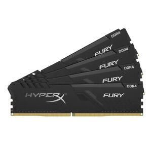 Kingston HX424C15FB3K4/64 Memory 64GB 2400 DR4 CL15 DIMM K4 HyperX FURY Black