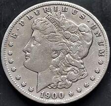 USA 1900 S Morgan Dollar San Francisco Silber Selten RARE 4684