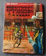 Tonnerre à l'Ouest -  Lieutenant Blueberry, Bandes dessinées / BD