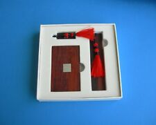 Ladies/Mens Chinese Gift Box Set - Business Card Holder, USB Memory Stick, Ruler