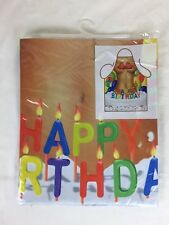 Happy Birthday Novelty Apron Sexy Naked Lady Cooking Brand New and Sealed