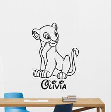 Personalized Nala Wall Decal Lion King Custom Simba Nursery Vinyl Sticker 355xxx