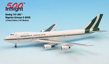 Nigerian Airways G-Bdxb 747-200 Airplane Miniature Model Metal Die-Cast 1:500