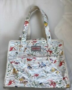 (SHP) Cath Kidston Tote Shopping Bag with Fishes Pattern