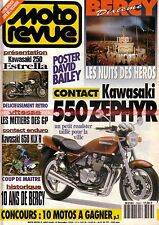 MOTO REVUE 3063 KAWASAKI 550 ZEPHYR KLR 650 250 ESTRELLA GUEDON 2700 PARIS BERCY