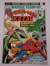 MARVEL TEAM-UP  SPIDER-MAN KA-ZAR  #19  VF 8.0