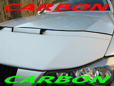 Silber Carbon Optik Honda Civic Bj. ab 2015 Steinschlagschutz Haubenbra