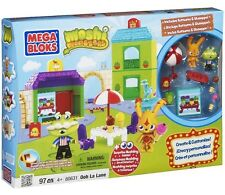 Mega Bloks Moshi Monsters Ooh La Lane #80631 New 97pc Playset