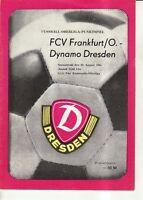 OL 81/82  SG Dynamo Dresden - FC Vorwärts Frankfurt/O.