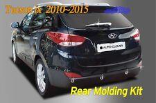 Rear Molding Kit Garnish Chrome B721 8P Silver for Hyundai Tucson iX 35 2010~15
