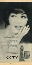 H- Publicité Advertising 1958 Cosmétique crème hydratante Coty