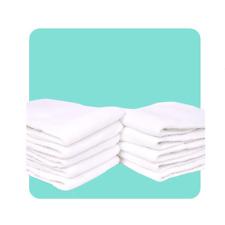 10 PZ Brand New Baby Neonato panno di cotone per pannolini pannolino inserti FODERE 3 Strati