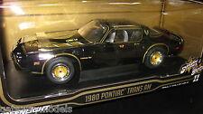 1/18 GREENLIGHT 1980 PONTIAC TRAMS AM SMOKEY AND THE BANDIT LTD ED 12944  LAST 1