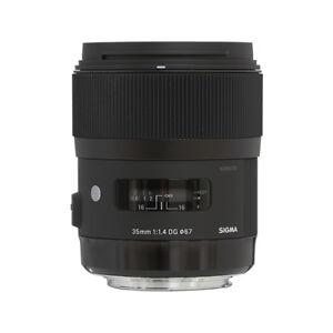 Sigma 35mm f/1.4 DG HSM Art Lens for Nikon DSLR Cameras