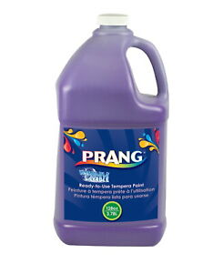 Prang Ready-to-Use Washable Tempera Paint, Gallon, Violet